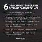 6 Gewohnheiten für eine gesunde Partnerschaft
