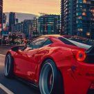 Ferrari wallpapers red colour