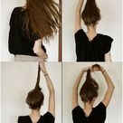 14 Simple Hair Bun Tutorial To Keep You Look Chic in Lazy Days - Be Modish
