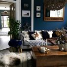 Dark blue walls....... What's not to love! — HORNSBY STYLE