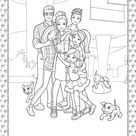 Barbie Princess Adventure Coloring Pages 06