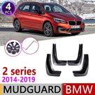 For BMW 2 Series F45 F46 Gran Active Tourer 2014~2019 Car Fender Mud Guard Splash Flap Mudguards Accessories 2015 2016 2017 2018