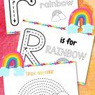 rainbow printables rainbow printables for preschoolers