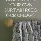 Cheap Curtain Rods