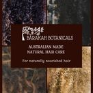 Australian Made Natural Hair Care