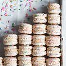 Cake Batter Macarons - Broma Bakery