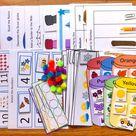 Busy Bag Preschool Toddler Busy Book Numbers Fine Motor Skills | Etsy