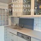 ENDLICH!: neue alte Küche mit Kreidefarbe - Smillas Wohngefühl - DIY BLog