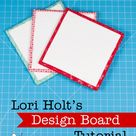 Lori Holt's Design Board Tutorial with Fat Quarter Shop - The Jolly Jabber Quilting Blog
