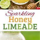 Sparkling Limeade with Honey Recipe   Cooking Classy
