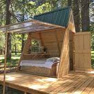 Ich habe das Gefühl, ich kann ein paar davon auf der Farm bauen und sie in den USA mit Airbnb veröffentlichen. - Outdoor Diy