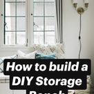 How to build a DIY Storage Bench