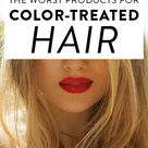 How To Care For Colored Hair | Worst Things For Colored Hair