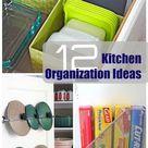 12 Super Simple Kitchen Organization Ideas