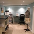 Basement Craft Rooms