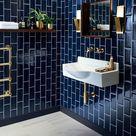Metro Deep Blue Tile