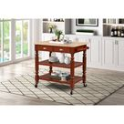 Barker Kitchen Cart and Islands - Linon