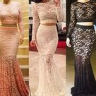 Heres are the Latest lace skirt and blouse styles 2017 (PHOTOS) - Madailygist