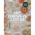 Art Forms in Nature by Ernst Haeckel : 100 Downloadable High-Resolution Prints for Artists, Designers and Nature Lovers (Paperback), Blue