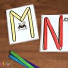 FREE Popsicle Stick Letters Printables