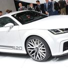 New Audi TT Coupe Mans Up with 414HP Quattro Sport Concept   Carscoops