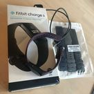 Fitbit Accessories | Fitbit Charge 3 Wcharger & 3 New Spare Bands Euc | Color: Black | Size: Os