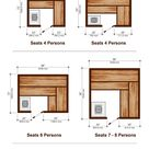 11 Sauna Dimensions, Sizes and Layouts (Illustrated Diagram)