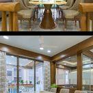 Interior Design of 4BHK Apartment @ Vertis Tower   Prashant Parmar Architect