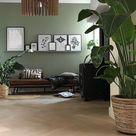 Modern Industrial Living Room Pendant Light, Wood Chandelier Lighting Fixture Brown, Minimal Lamp