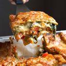 Gemüse Lasagne mit Spinat Amore Italia   Madame Cuisine