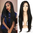 Lace Front Human Hair Wigs With Space Glueless Malaysian Lace Wig 150 Density Non Remy Hair Wigs For Black Women
