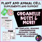 Cell Parts  Plant and Animal Cells Activities, Notes, and More
