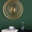 Wohnzimmer  | Modernes Design 50cm Luxus Wanduhr  | Haus und Garten Dekoration Günstig Online Kaufen