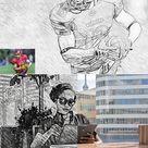 Realistic Pencil Sketch Action 3749046 - FreePSDvn