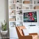 Family Room Built-Ins: Custom For The Wall | The DIY Playbook
