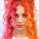 Half hair color to trend na lato!