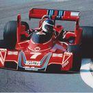1976 Carlos Reutemann, Martini Racing Team, Brabham BT45 Alfa Romeo