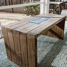 How to Build a DIY Fire Pit Table for $120