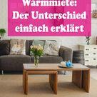 Kaltmiete & Warmmiete: Der Unterschied einfach erklärt