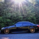 2010 BMW 535i Base with 20x9 Rohana Rfx7 and Achilles 235x30 on Air Suspension   742254   Fitment Industries