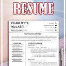 Resume Templates, Professional Resume, Creative Resume, CV Templates, Modern Resume, Resume Word, CV