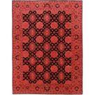 Nain Trading Orientteppich Ziegler Vintage 252x188 Orange/Rosa (Pakistan, Handgeknüpft, Wolle)