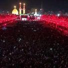 شب عشورا ۔۔۔حرم  امام حسین علیہ السلام