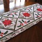 Holidaytabletop Trio  Quilted Christmas Table Runner Pattern | Etsy