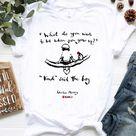Charlie Mackesy Shirt, Charlie Mackesy Gift, Comic Relief Shirt - Gnomie Store