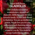 August Birth Flowers