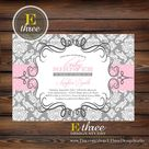 Damask Baby Showers