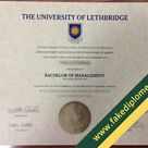 Where Can I Get the University of Lethbridge Fake Diploma?