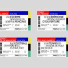 Tickets Olympics Paris 2024