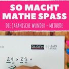 Multiplizieren kann so einfach sein – mit dieser Methode aus Japan.